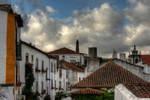 Clouds over Obidos by ruivazribeiro