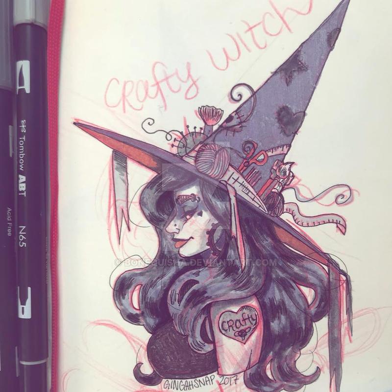 Crafty Witch by Bonequisha