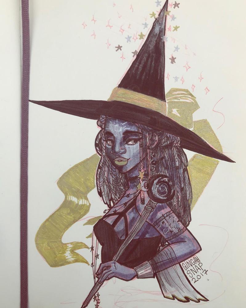 Astronomy Witch by Bonequisha