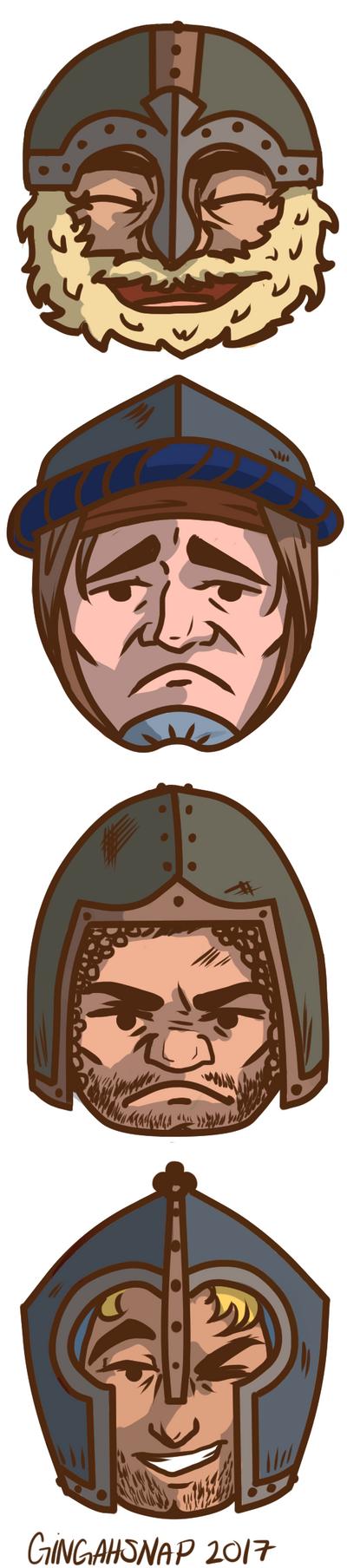 Medieval Emojis by Bonequisha