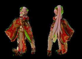 Model DL - TDA Kimono Luka Type-elina002 by elina002