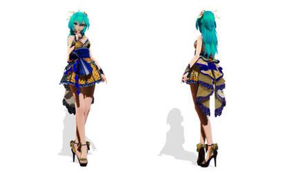 Model DL - TDA Short Kimono Miku