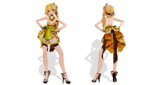 Model DL - TDA Short Kimono Neru by elina002