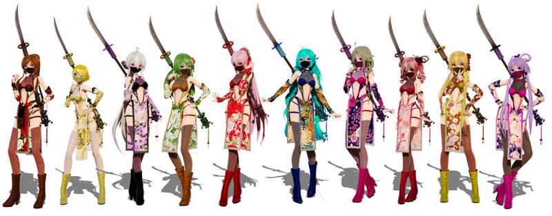 TDA Momiji Ninja Pack