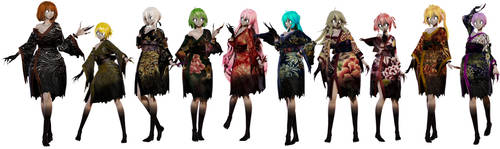 TDA Onryou Model Pack by elina002