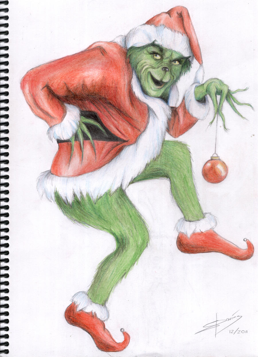 The Grinch by Sam-in-Motion on DeviantArt