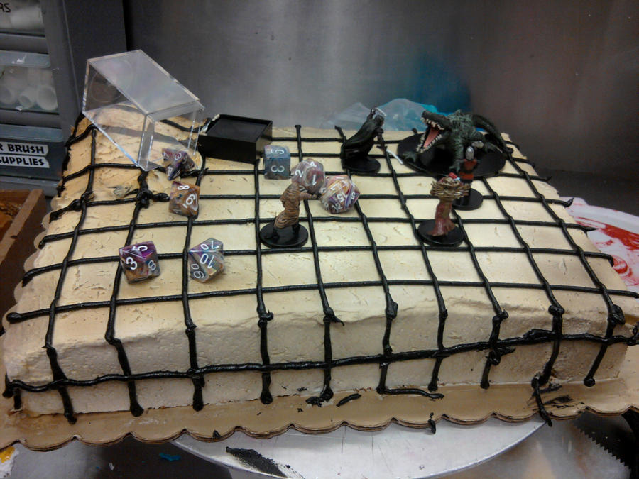 Dungeons And Dragons Cake Ideas