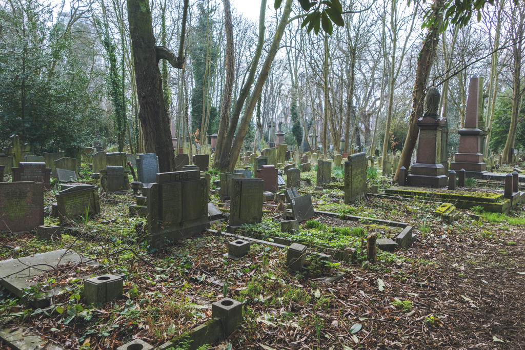 Tower Hamlets Cemetery by BreAnn