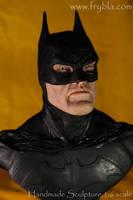 Batman action figure miniature sculpture by frybla by frybla