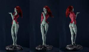 Poison Ivy Arkham - Handmade Action Figure 1:12