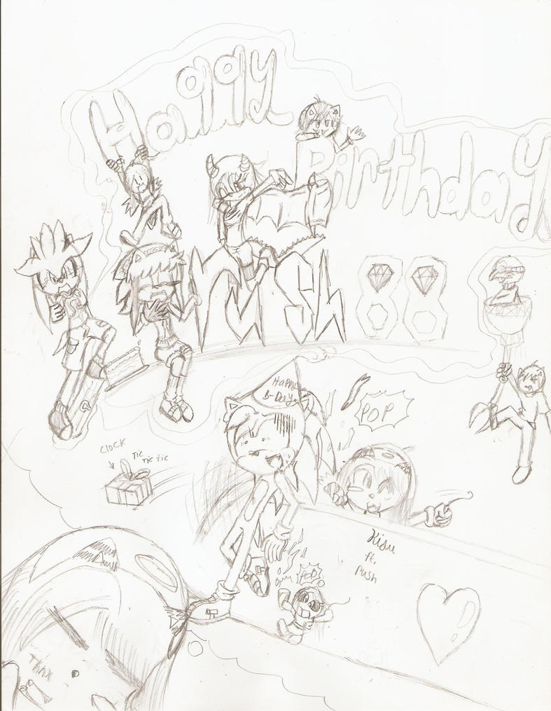 Happy Birthday Rush88 by AiXCute