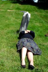 Fun in graveyards. by FroggieGirl