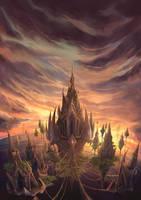 Garuda tower by CHEER--UP