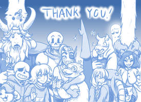 Happy Belated Anniversary Undertale!! by UnluckyxSe7en