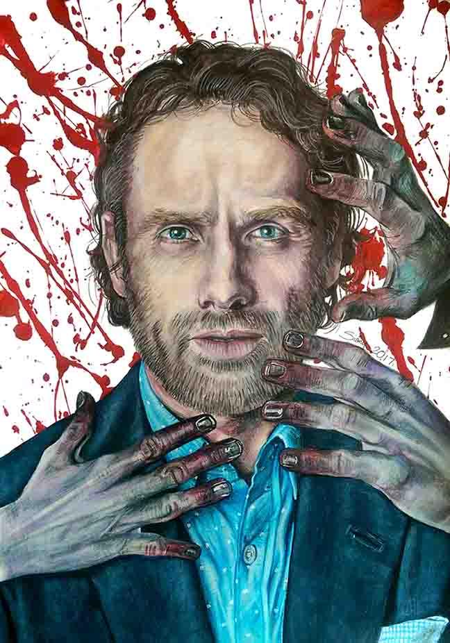 Rick Grimes by Sianypantsart