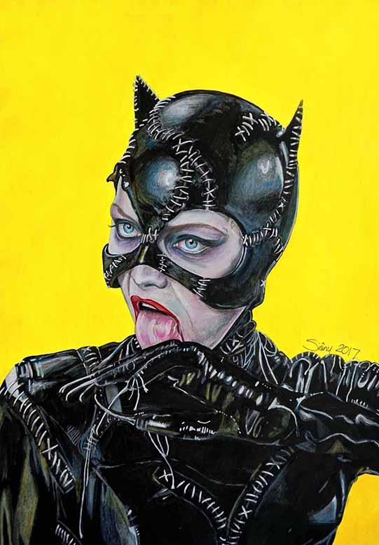 Catwoman1 by Sianypantsart