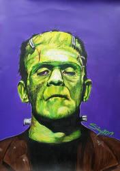 Frankensteins Monster by Sianypantsart