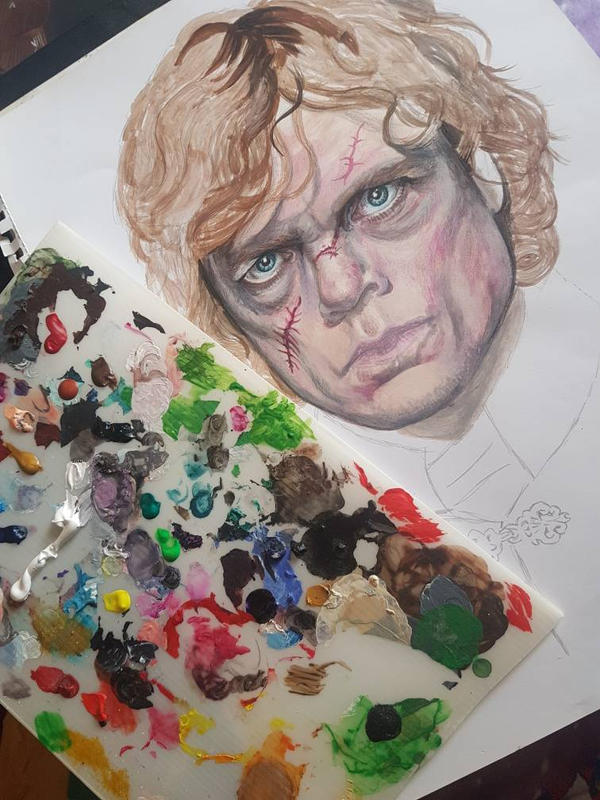 I drink and I know things - work in progress by Sianypantsart