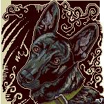Pixel Dutch Shepherd by mJackson