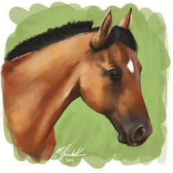 Perrin Portrait Sketch #1