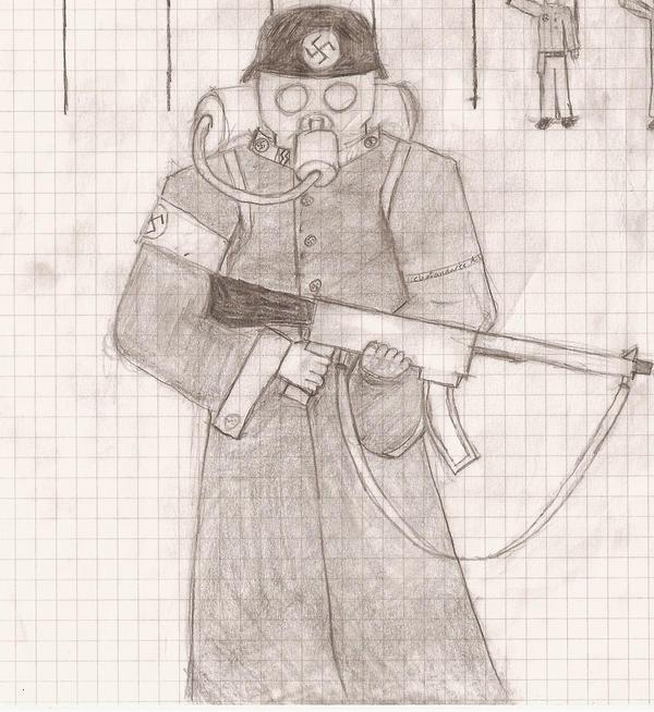 Crazy German WW2 Soldier By Tordenskjold89 On DeviantArt