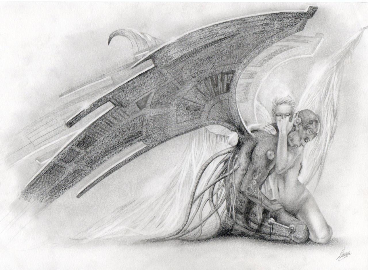 Демон картинки красивые графика, открытка оргриммара мастер-класс