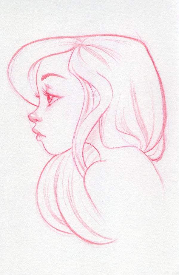 Blue (Sketch) by dennia