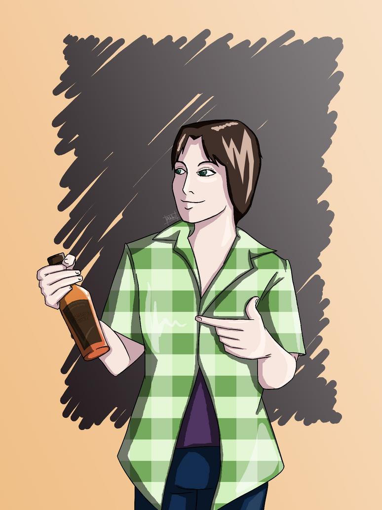 Go drink dude by AkkiKama