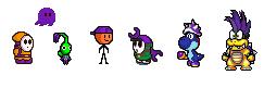 purple buddys by ryanfrogger