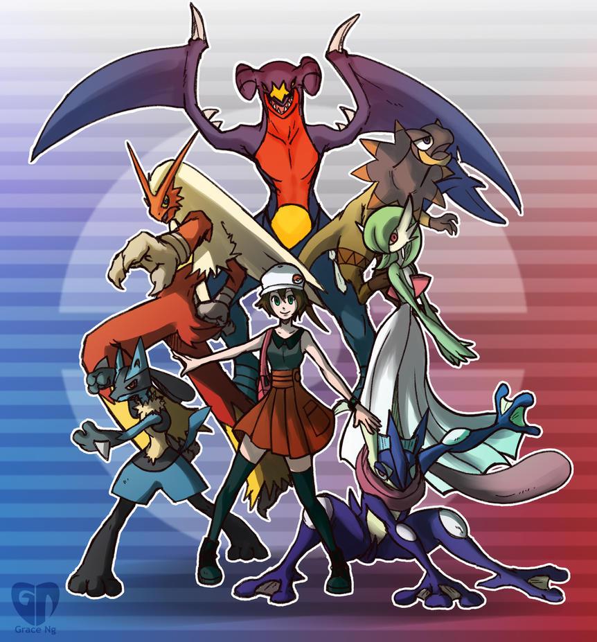 Pokemon Xy By Gzei On Deviantart