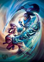Riven VS Yasuo by Gzei