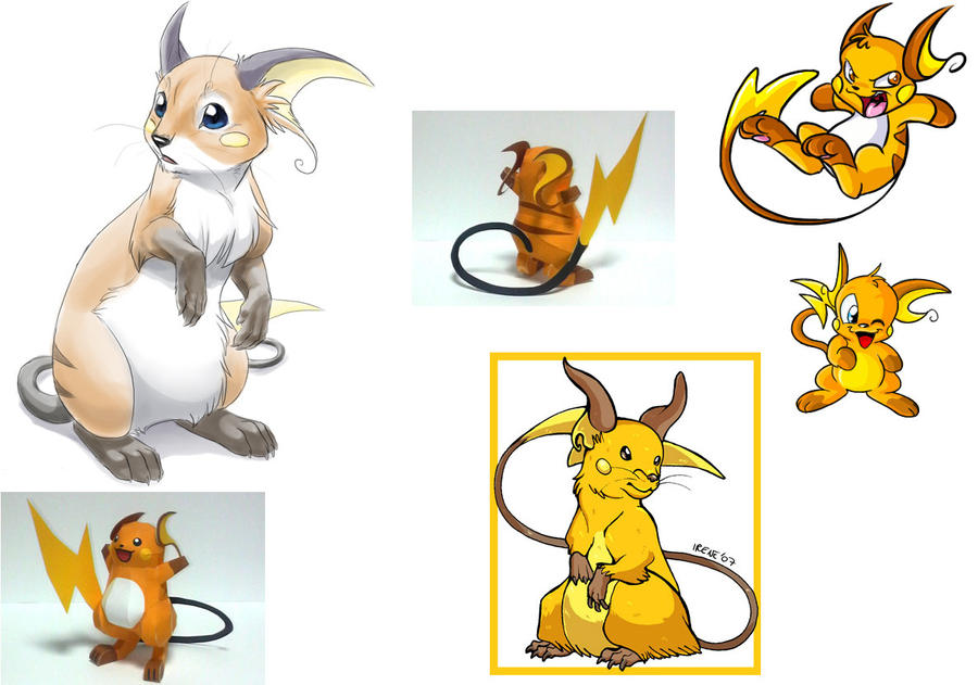 how to make papercraft pokemon pikachu