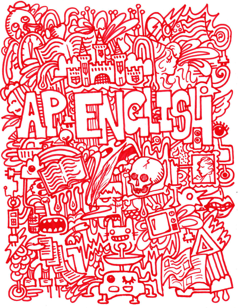 Book Cover Ideas For English : English binder cover by phageoflife on deviantart
