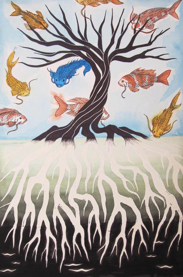 Fish in a tree by phageoflife16 on deviantart for Fish in a tree