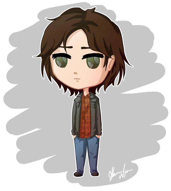 Sam Winchester by Hanna-Victoria