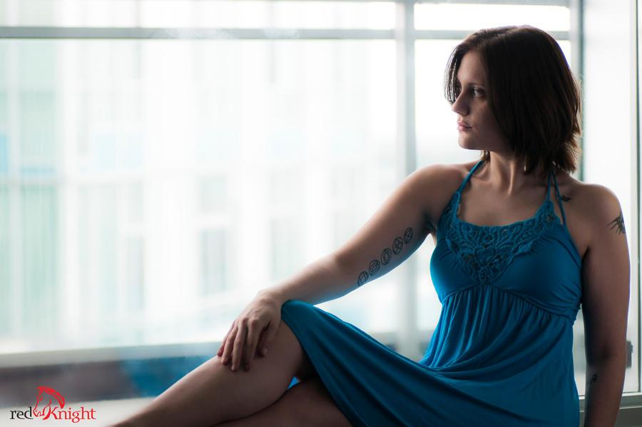 K - Blue Dress