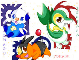 ..+Pokemon Trio+.. by angel-of-time