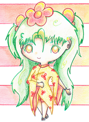 #_- Little Kimono Girl -_# by angel-of-time