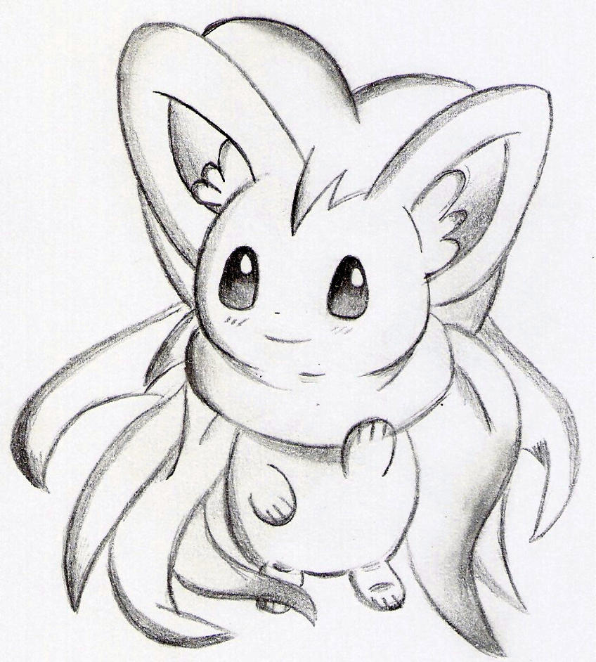 pokemon coloring pages minccino - photo#36