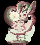 Leafeon by Pokkiu