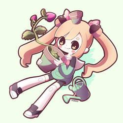 Aki Final Illustration