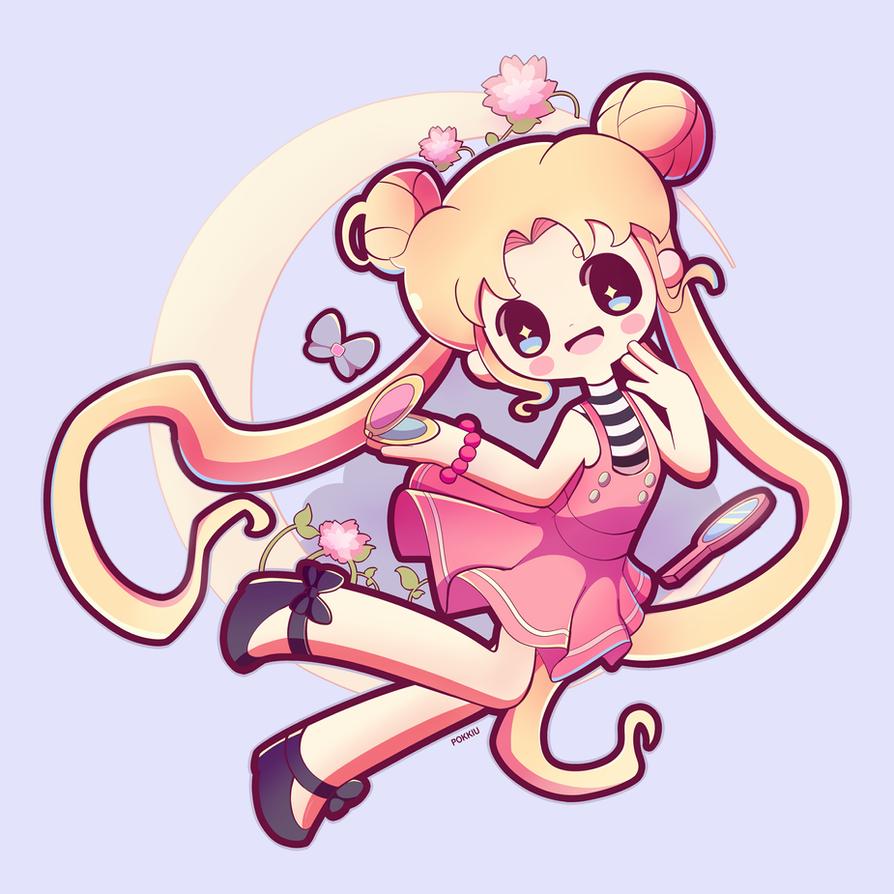 Sailor Moon by Pokkiu