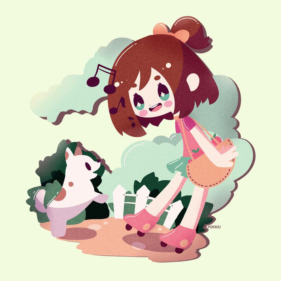 Hi! Friend by Pokkiu