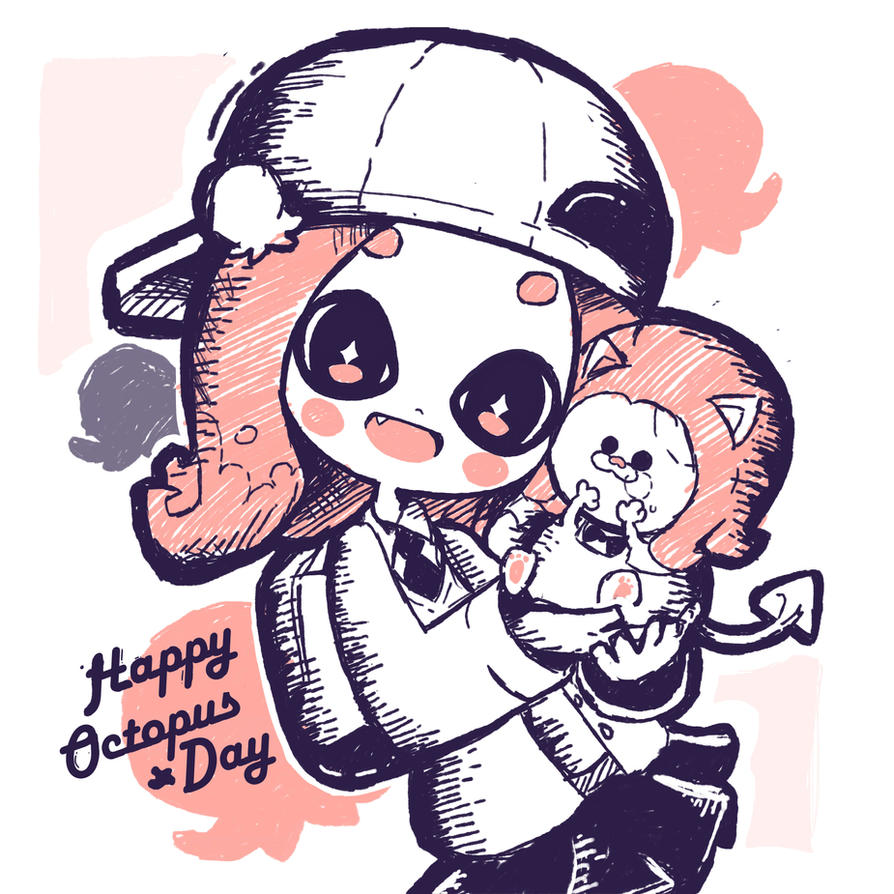 Happy Octo Day! (like reply) by Pokkiu