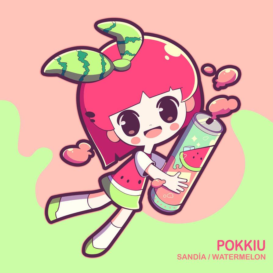 Watermelon by Pokkiu