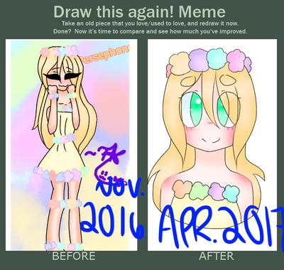 Draw this Again!  by kittysrllygreetart