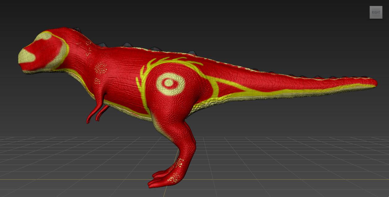 Mudbox - T-Rex sculpt test  by Achkata1995 on DeviantArt