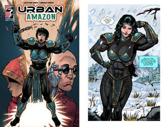 Urban Amazon: Birth of a Champion by Valeyard-Vince