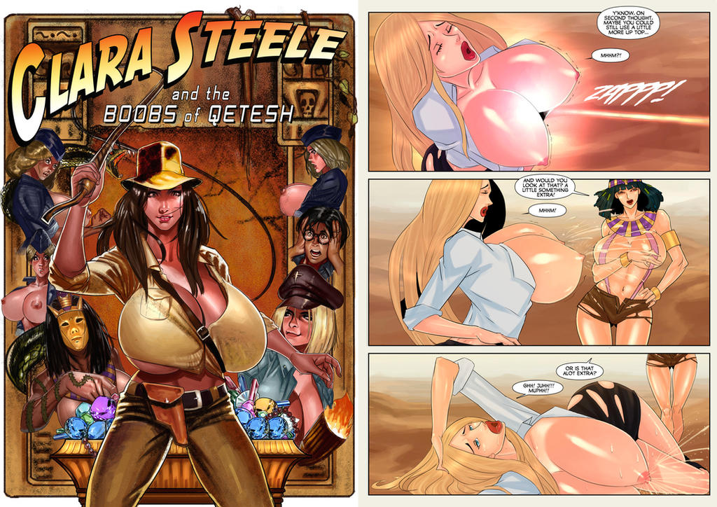 Clara Steele and The Boobs of Qetesh by Valeyard-Vince