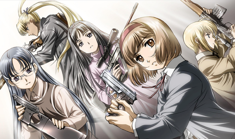 Gunslinger Girl Blu-Ray Art by KalasRaven